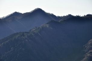 南山より仏果山の写真素材 [FYI03136542]