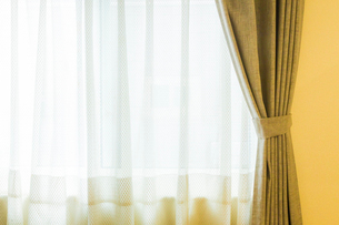 カーテンの写真素材 [FYI03136649]