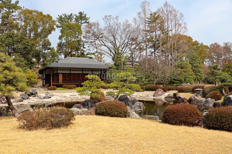 二条城の日本庭園の写真素材 [FYI03136725]