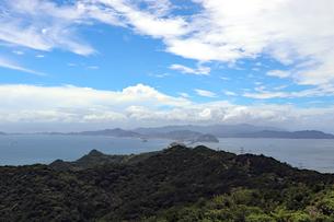 淡路島から鳴門海峡を望むの写真素材 [FYI03136777]
