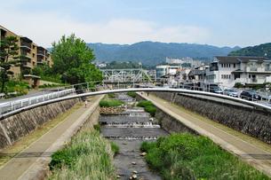 神戸・住吉川の写真素材 [FYI03136803]