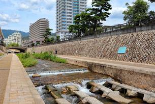 神戸・住吉川の写真素材 [FYI03136806]