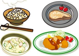 食べ物12のイラスト素材 [FYI03137316]