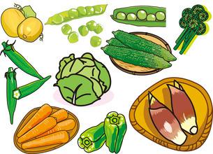 食べ物9のイラスト素材 [FYI03137319]