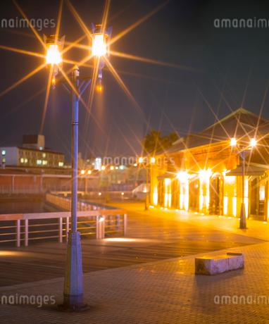 兵庫県 神戸市 自然 風景 神戸港夜景の写真素材 [FYI03137417]