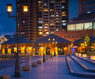 兵庫県 神戸市 自然 風景 神戸港夜景の写真素材 [FYI03137425]