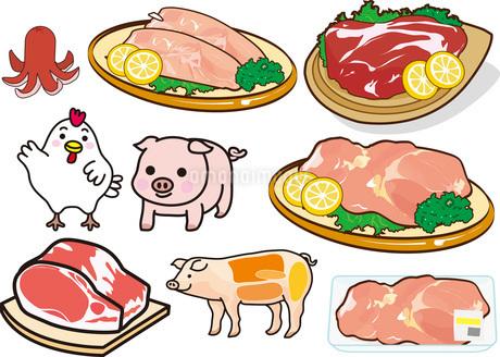 食べ物7のイラスト素材 [FYI03137851]