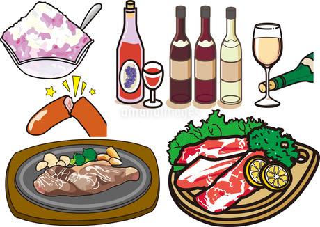 食べ物6のイラスト素材 [FYI03137852]