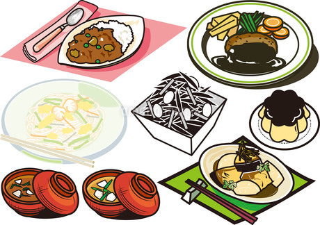 料理7のイラスト素材 [FYI03137866]