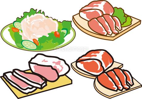 肉のイラスト素材 [FYI03137891]