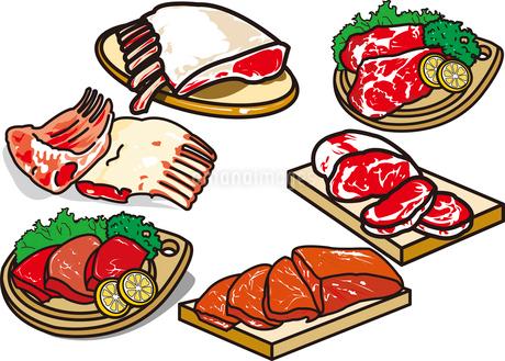 肉のイラスト素材 [FYI03137892]