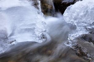 水源の凍結の写真素材 [FYI03138156]