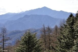 笠取山より大菩薩嶺の写真素材 [FYI03138170]