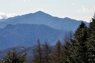 笠取山より大菩薩嶺の写真素材 [FYI03138171]