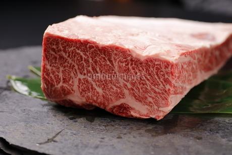 ハラミ牛肉ブロックの写真素材 [FYI03138382]