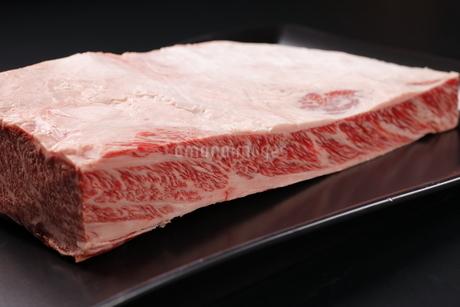 ハラミ牛肉ブロックの写真素材 [FYI03138384]