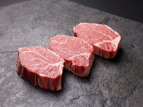 牛肉ヒレの写真素材 [FYI03138386]