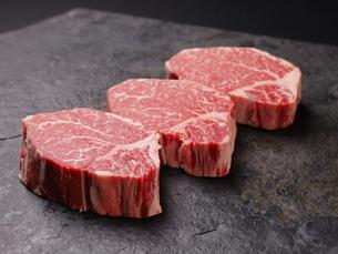 牛肉ヒレの写真素材 [FYI03138387]
