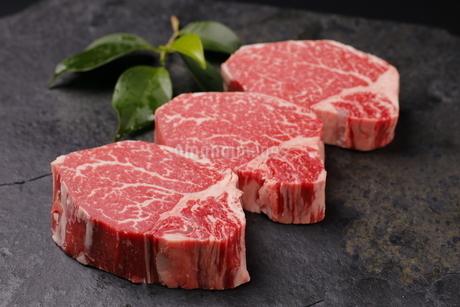 牛肉ヒレの写真素材 [FYI03138388]