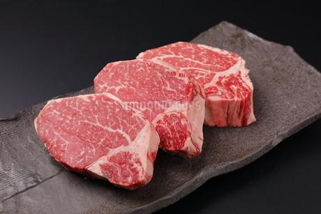 牛肉ヒレの写真素材 [FYI03138389]