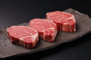 牛肉ヒレの写真素材 [FYI03138390]