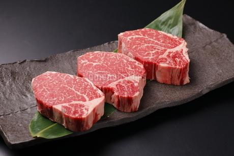 牛肉ヒレの写真素材 [FYI03138391]