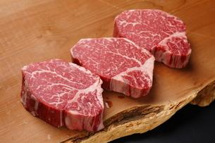 牛肉ヒレの写真素材 [FYI03138393]