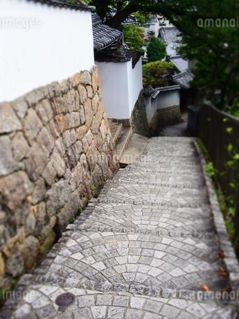 尾道の坂道の写真素材 [FYI03139104]