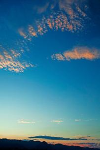 夕景の写真素材 [FYI03139299]