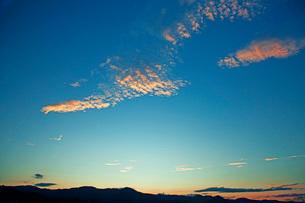 夕景の写真素材 [FYI03139300]