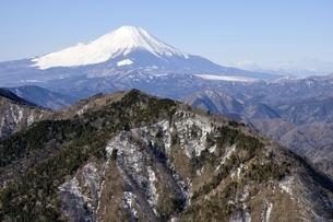 富士山と雨山の写真素材 [FYI03139323]
