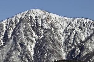 厳冬の蛭ヶ岳の写真素材 [FYI03139350]