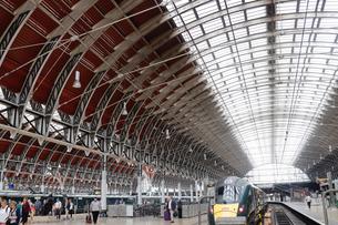 ロンドン パディントン駅の写真素材 [FYI03139472]