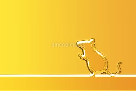 黄金のネズミのイラスト素材 [FYI03139722]