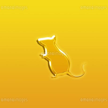 黄金のネズミの写真素材 [FYI03139723]