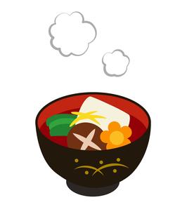 お雑煮のイラストのイラスト素材 [FYI03140356]