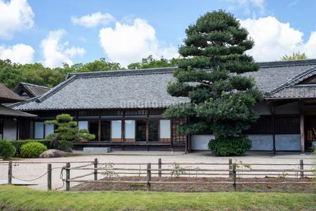 後楽園の日本家屋の写真素材 [FYI03140797]