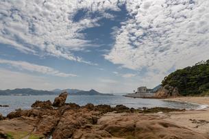 海と青空の写真素材 [FYI03140830]
