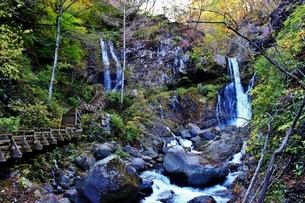 日光の名瀑 裏見の滝の写真素材 [FYI03141127]