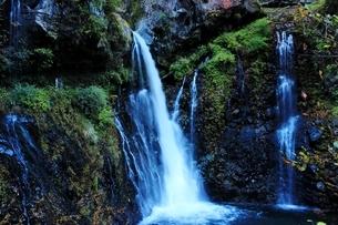 日光の名瀑 裏見の滝の写真素材 [FYI03141128]