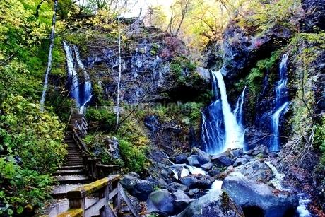 日光の名瀑 裏見の滝の写真素材 [FYI03141137]