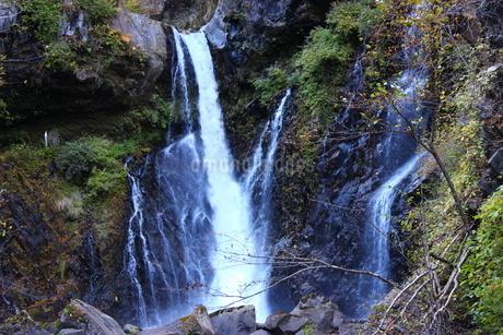 日光の名瀑 裏見の滝の写真素材 [FYI03141138]