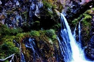 日光の名瀑 裏見の滝の写真素材 [FYI03141150]