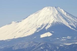 厳冬の富士眺望の写真素材 [FYI03141493]
