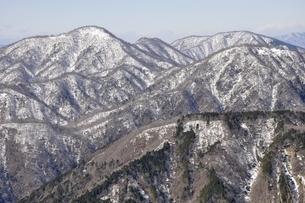 雪陵の西丹沢の写真素材 [FYI03141500]