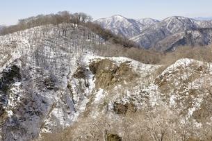 雪陵の大丸と西丹沢の写真素材 [FYI03141528]