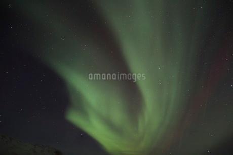 アイスランドのオーロラの写真素材 [FYI03141716]