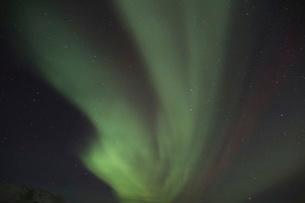 アイスランドのオーロラの写真素材 [FYI03141718]