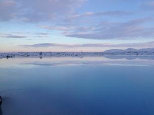 アイスランドの風景の写真素材 [FYI03141730]