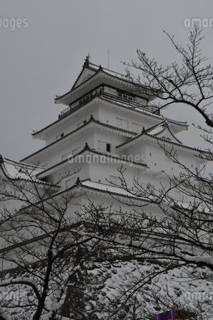 鶴ヶ城 会津若松の写真素材 [FYI03141734]